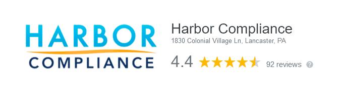 Harbor Compliance Customer Reviews Google